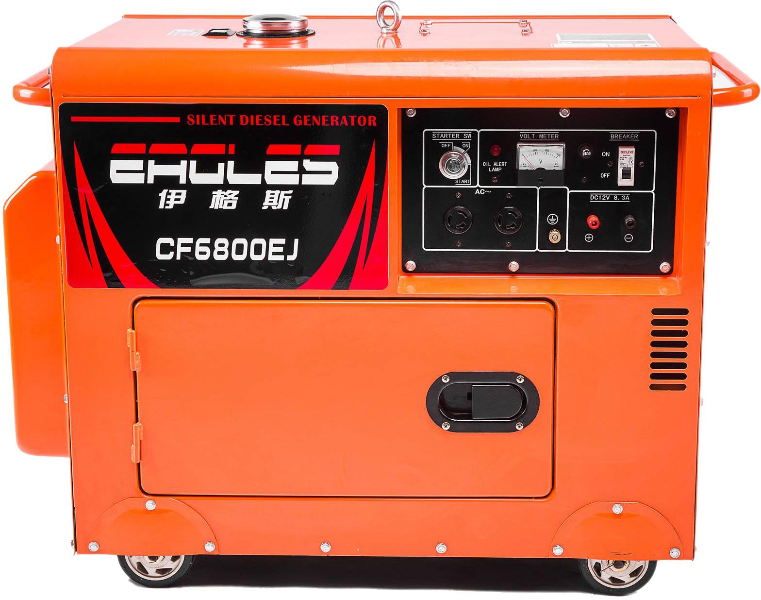 CF6800EJ柴油静音发电机